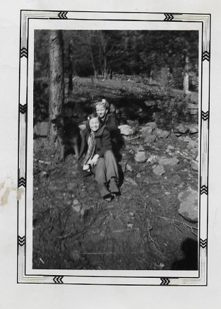 Mom and Jeanene