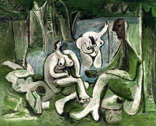 Le déjeuner sur l'herbe (Picasso) 5