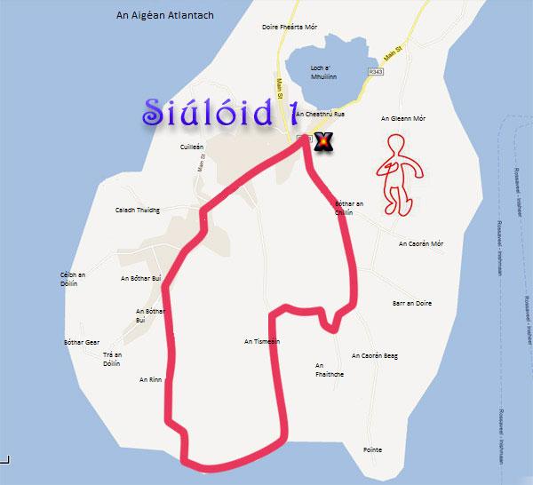 Siúlóid 1 - Gníomhaíocht - An Cheathrú Rua