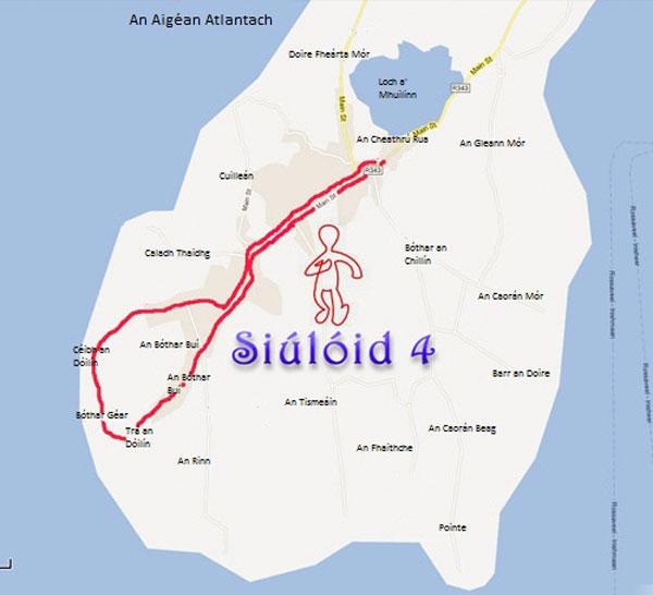 Siúlóid 4 - Gníomhaíocht - An Cheathrú Rua