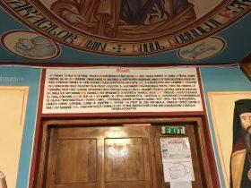 Intrarea în biserica nouă