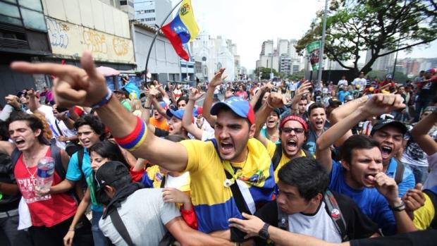 venezuela-protestors