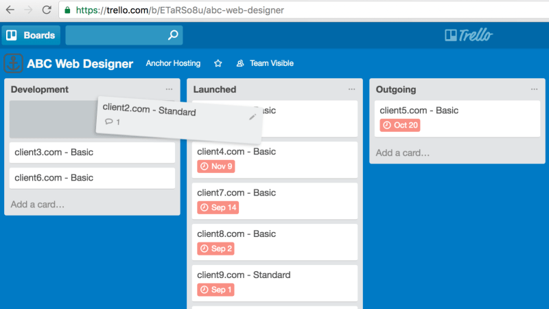 Using Trello to Manage Website Launches