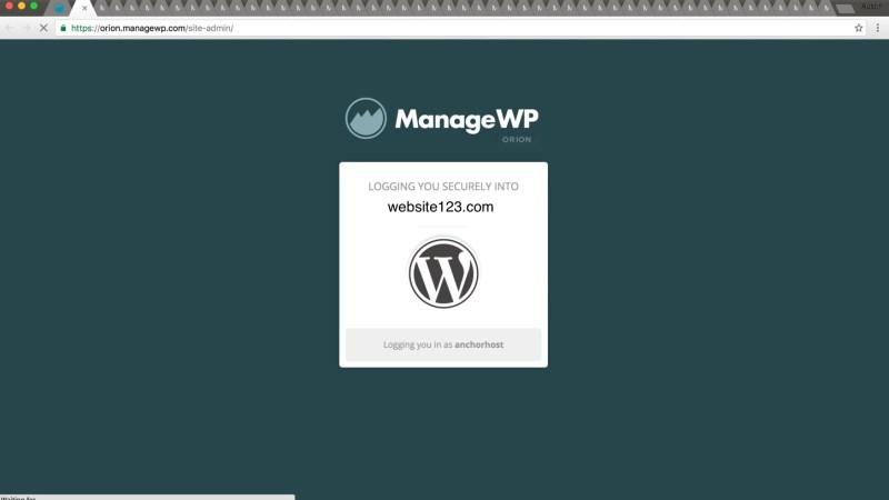 JS hacks with ManageWP