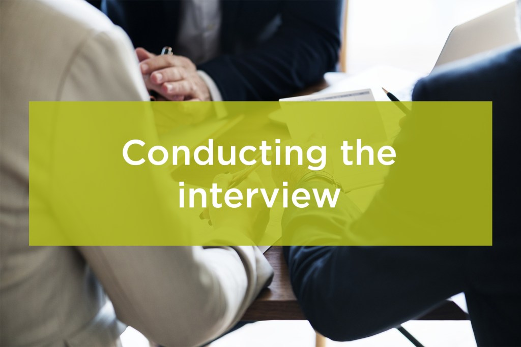 conducting-interview