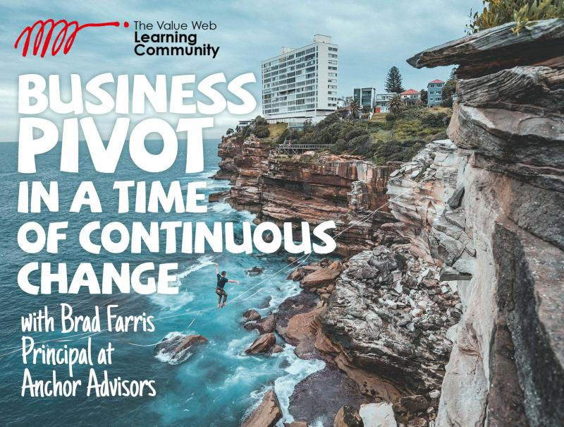 Buisness Pivot in a Time of Continuous Change