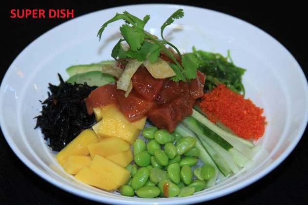 Super Dish with Spicy Tuna Poki