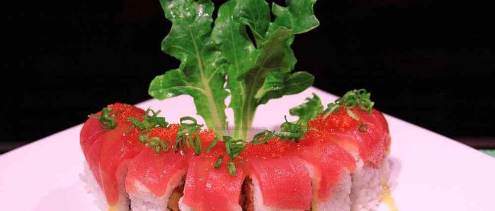 christmas sushi roll