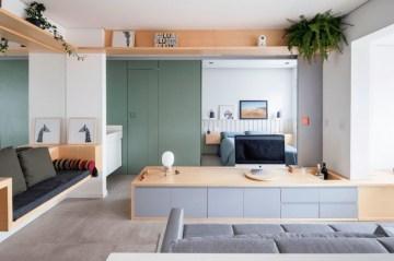 Amazing Ideas Decorating Studio Apartment 05