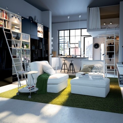 Amazing Ideas Decorating Studio Apartment 25