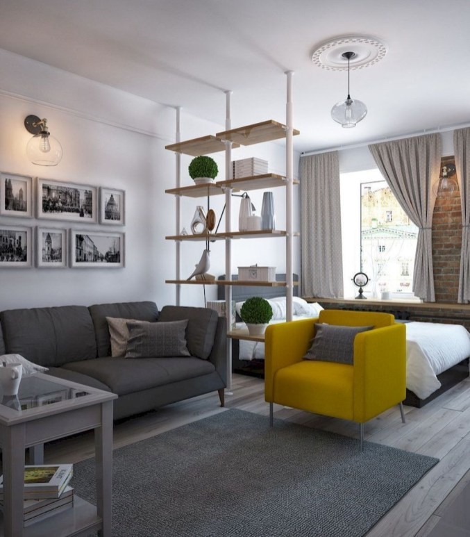 Amazing Ideas Decorating Studio Apartment 45