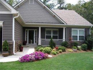 Beautiful Flower Garden for Your Front Yard 34