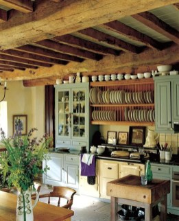 Best DIY Farmhouse Kitchen Decorating Ideas 17
