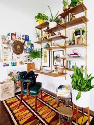 Bohemian Office Decor Inspiration 17