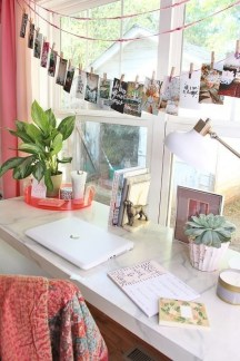 Bohemian Office Decor Inspiration 23