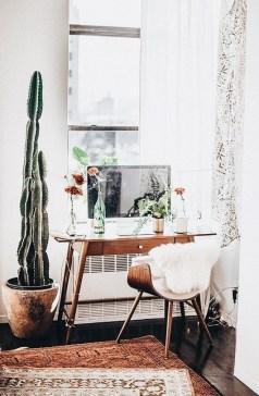 Bohemian Office Decor Inspiration 24