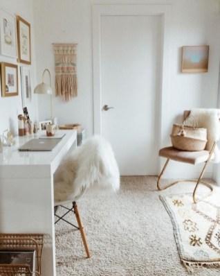 Bohemian Office Decor Inspiration 35