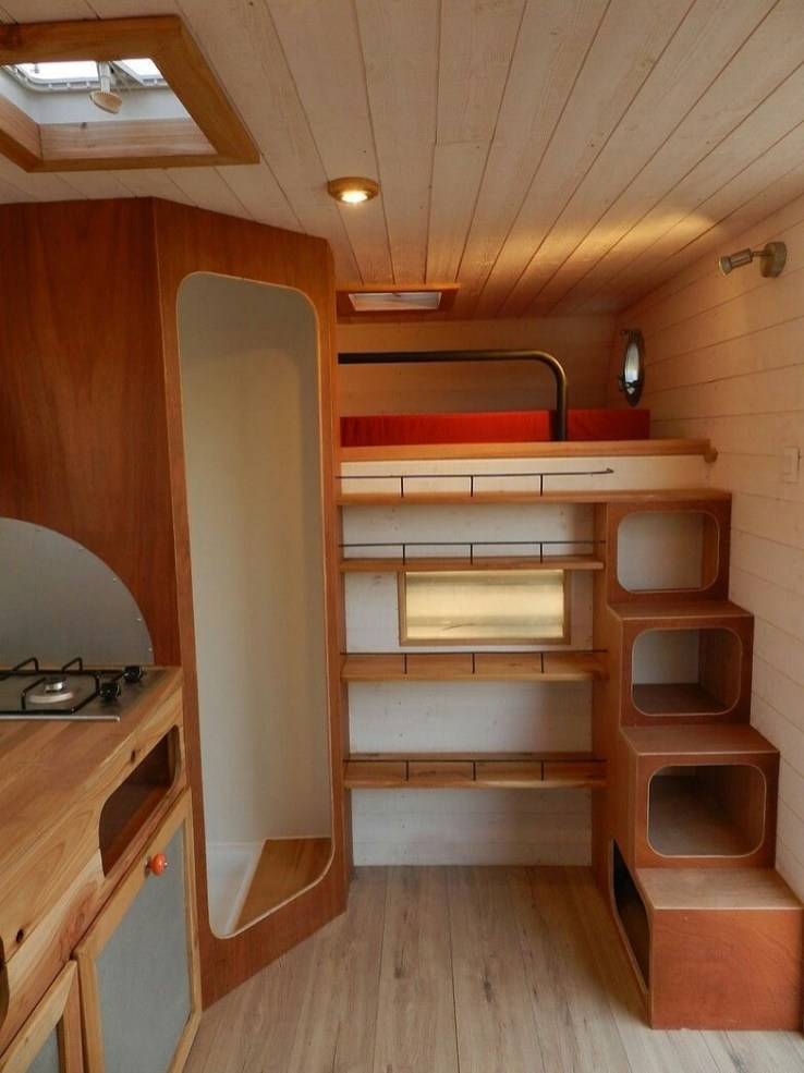 Brilliant Camper Van Conversion for Perfect Outdoor Experience 37