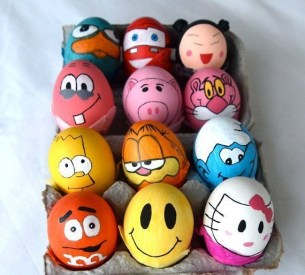 Brilliant DIY Egg Decorating Ideas 27