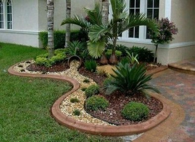 Cheap Front Yard Landscaping Ideas 54