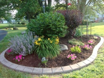 Clever & Beautiful Yard Island Landscaping for Backyard and Front yard 20