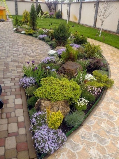 Clever & Beautiful Yard Island Landscaping for Backyard and Front yard 33