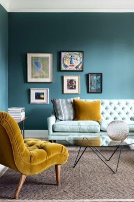 Colorful Furniture Ideas to Makeover your Interior 34