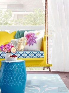 Colorful Furniture Ideas to Makeover your Interior 37