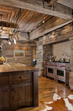 Cozy DIY for Rustic Kitchen Ideas 12
