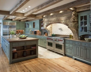 Cozy DIY for Rustic Kitchen Ideas 25