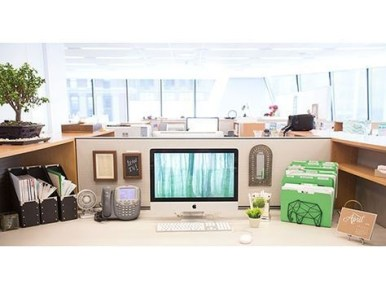 Cubicle Workspace Decorating Ideas 18
