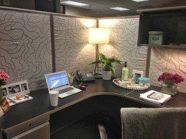 Cubicle Workspace Decorating Ideas 49