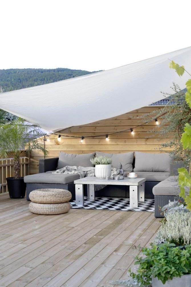 DIY Patio Deck Decoration Ideas on A Budget 08