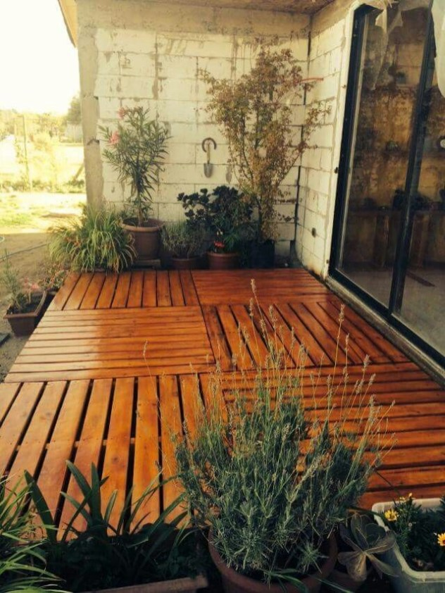 DIY Patio Deck Decoration Ideas on A Budget 14