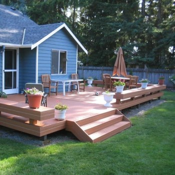 DIY Patio Deck Decoration Ideas on A Budget 31