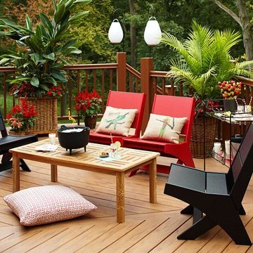 DIY Patio Deck Decoration Ideas on A Budget 51