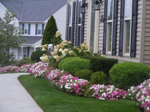 Easy And Low Maintenance Front Yard Landscaping Ideas 32