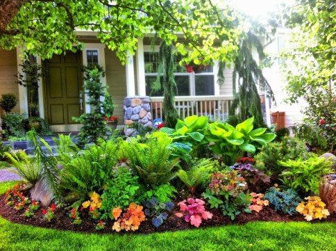 Easy And Low Maintenance Front Yard Landscaping Ideas 35