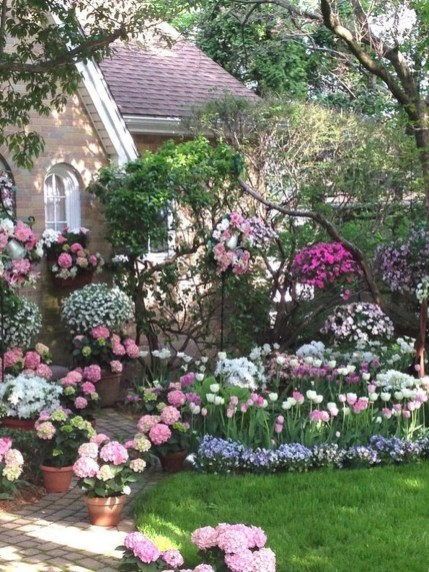 Easy And Low Maintenance Front Yard Landscaping Ideas 50