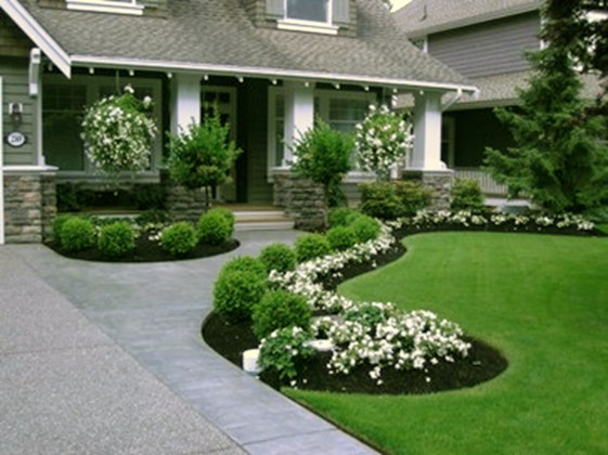 Examples Landscaping Ideas You can Put in House Page 07