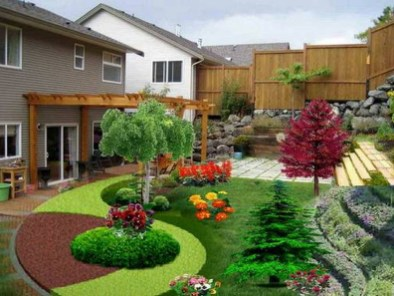 Examples Landscaping Ideas You can Put in House Page 26