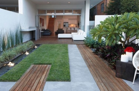 Examples Landscaping Ideas You can Put in House Page 33