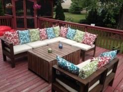 Inspiring DIY Outdoor Furniture Ideas 47