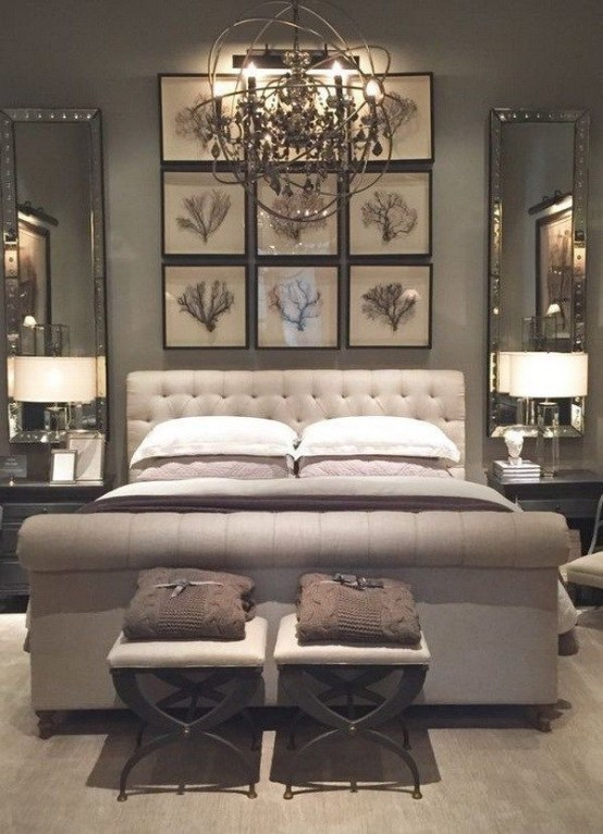 Luxury Huge Bedroom Decorating Ideas 25