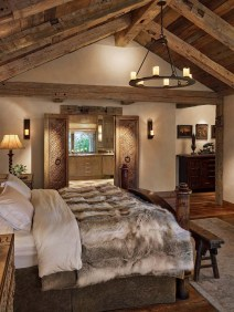 Outstanding Rustic Master Bedroom Decorating Ideas 44