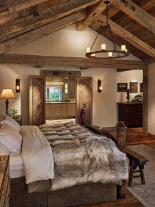 Outstanding Rustic Master Bedroom Decorating Ideas 44
