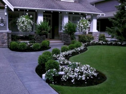 Simple But Beautiful Front Yard Landscaping Ideas 38