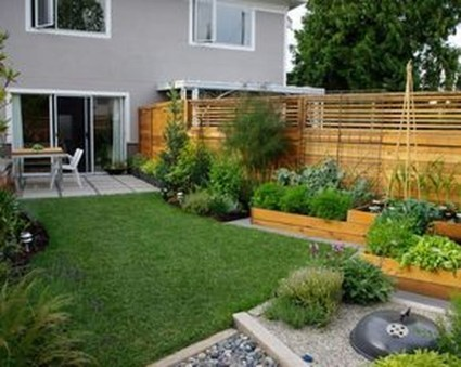 Small Garden Design Ideas With Awesome Design 22