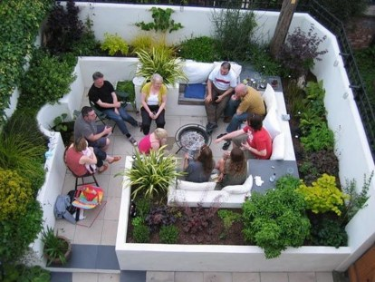Small Garden Design Ideas With Awesome Design 28