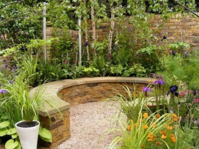 Small Garden Design Ideas With Awesome Design 38